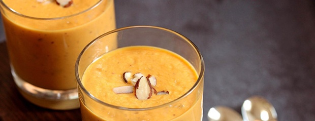 Carrot cake protein smoothie recipe MaxiNutrition
