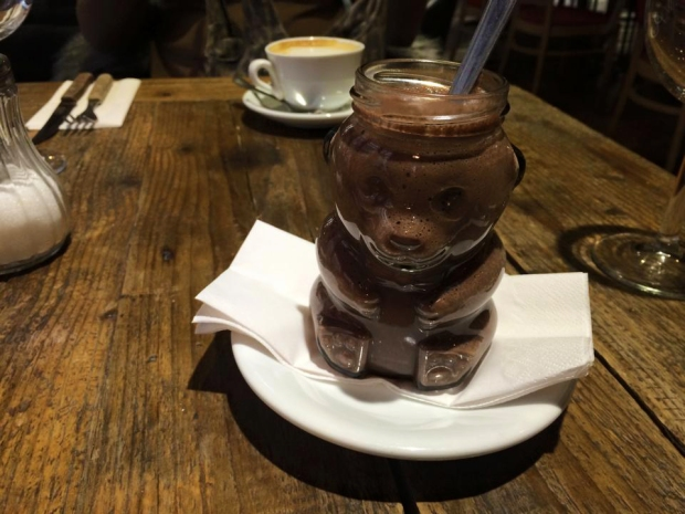 Hot Chocolate in Budapest